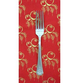 PD's Timeless Treasures Collection Charleston Art Deco in Red with Metallic, Dinner Napkin