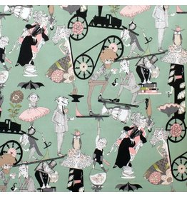Alexander Henry Fabrics The Ghastlies, Ghastlie End in Headstone, Fabric Half-Yards