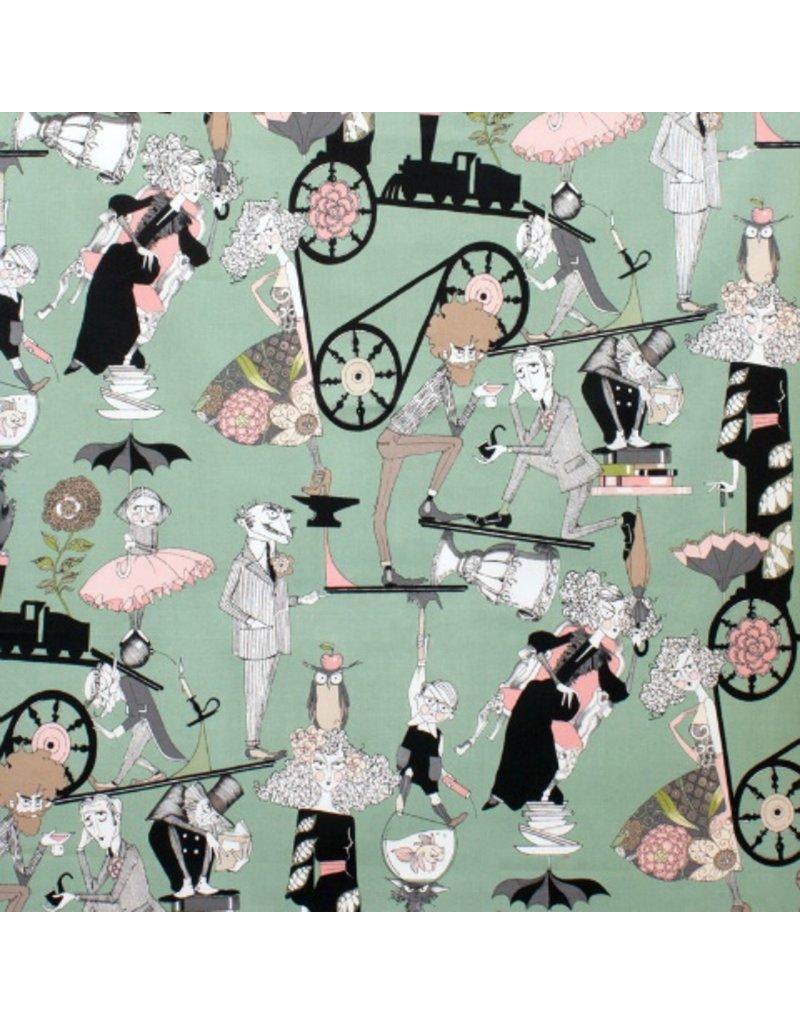 Alexander Henry Fabrics The Ghastlies, Ghastlie End in Headstone, Fabric Half-Yards