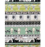 Alexander Henry Fabrics The Ghastlies, Ghastlie Grounds in Headstone, Fabric Half-Yards