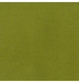 Moda Linen Mochi Solid in Olive, Fabric Half-Yards