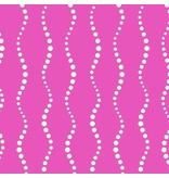 Alison Glass Sun Print, Bike Path in Fuchsia, Fabric Half-Yards