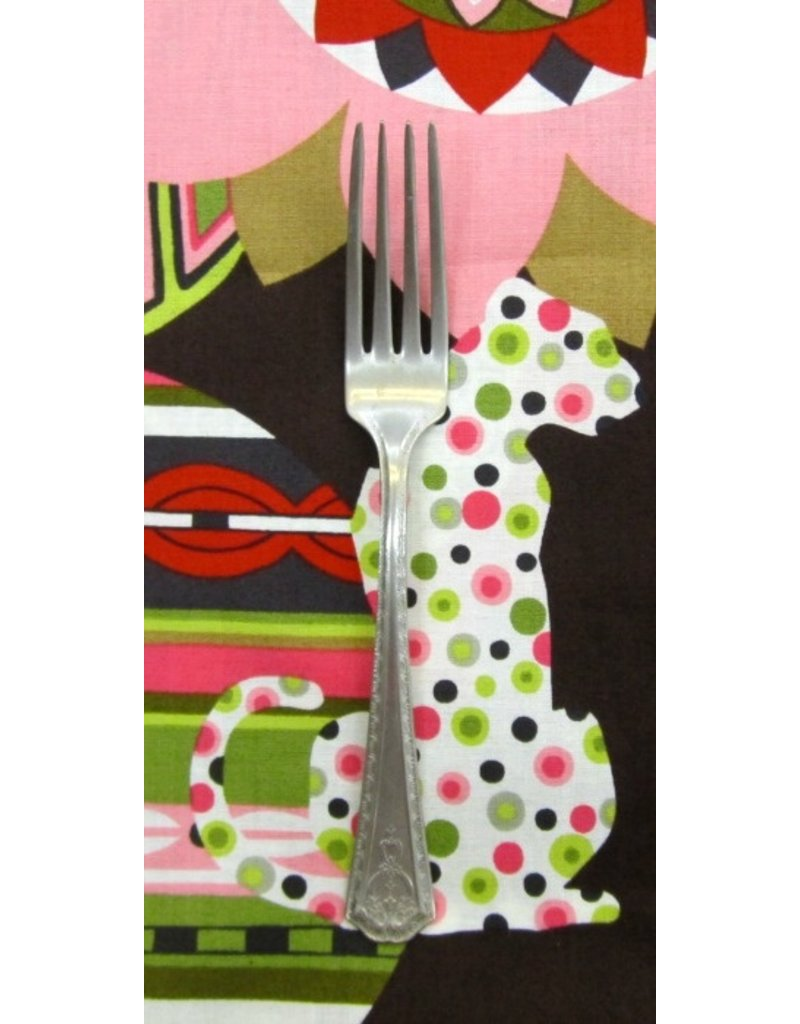 PD's Alexander Henry Collection Africa Mbali in Coffee, Dinner Napkin