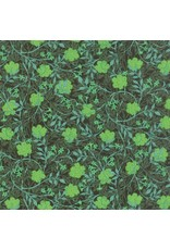 Barbara Brackman The Morris Jewels, Grafton in Emerald, Fabric Half-Yards