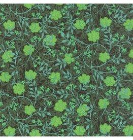Barbara Brackman The Morris Jewels, Grafton in Emerald, Fabric Half-Yards