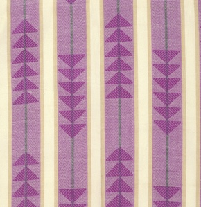 Anna Maria Horner Loominous Yarn Dyed Woven, Traffic in Cherry, Fabric Half-Yards