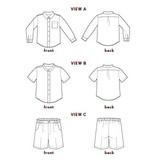 Oliver+S's Sketchbook Shirt + Shorts Pattern