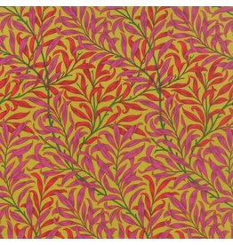 Barbara Brackman The Morris Jewels, Willow Boughs in Topaz, Fabric Half-Yards