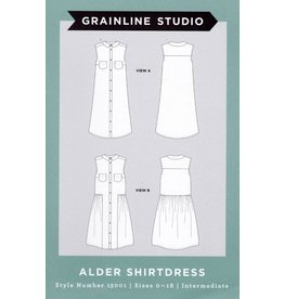 Grainline Studio Grainline's Alder Shirtdress Pattern