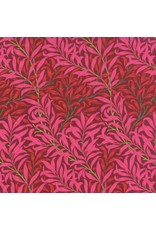 PD's Barbara Brackman Collection The Morris Jewels - Willow Boughs in Ruby, Dinner Napkin