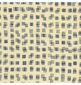 Carolyn Friedlander Doe, Weave in Meringue, Fabric Half-Yards