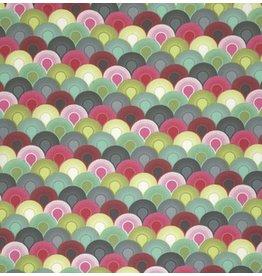 Tula Pink Elizabeth, Chain Mail in Tart, Fabric Half-Yards