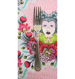 PD's Tula Pink Collection Elizabeth 16th Century Selfie in Tart, Dinner Napkin
