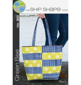 Green Bee Patterns Green Bee's The Ship Shape Tote Pattern