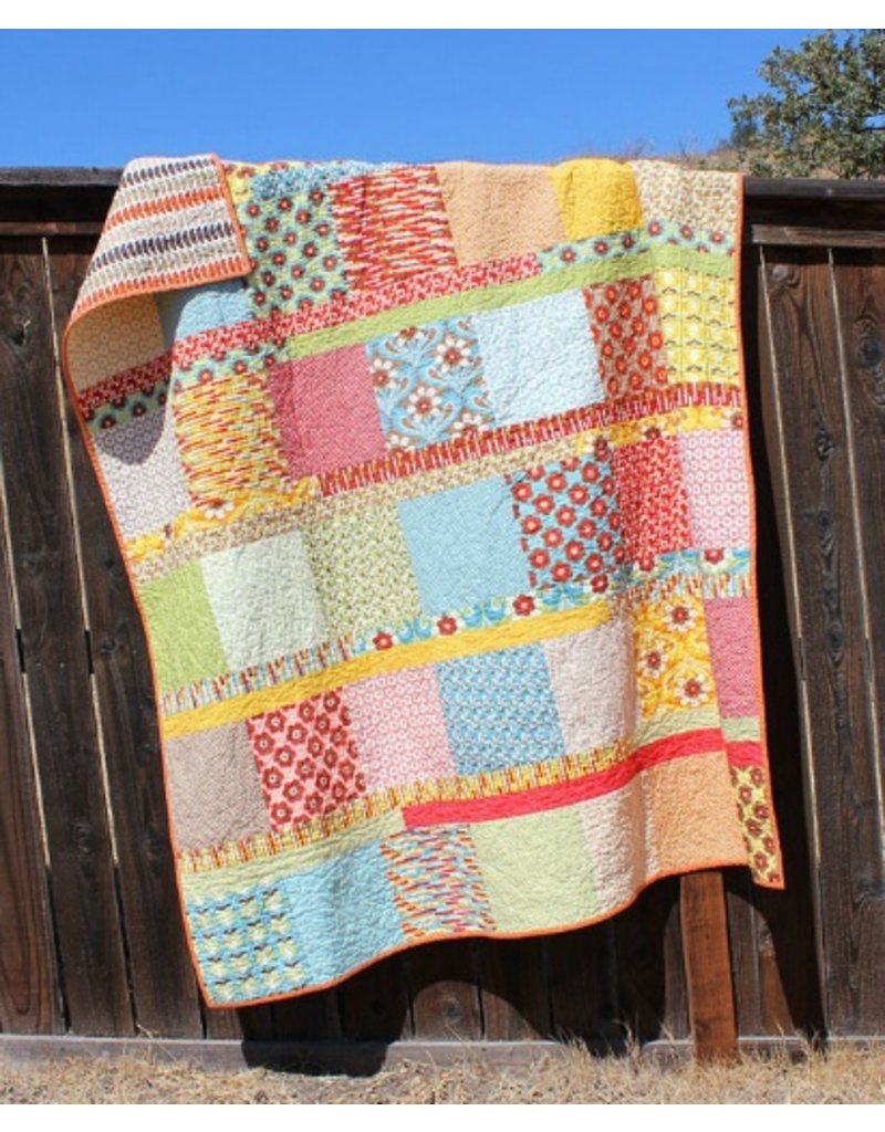 Orange Dot Quilts Orange Dot Quilt's Boho Chic Pattern