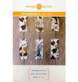 Orange Dot Quilts Orange Dot Quilt's String Beads Pattern