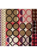 Alexander Henry Fabrics Africa, Johari in Taupe/Pink, Fabric Half-Yards