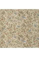 Tim Holtz Wallflower, Birds and Berries, Fabric Half-Yards