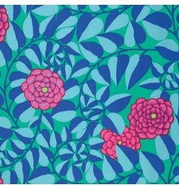 Kaffe Fassett Kaffe Collective Fall 2015, Vine in Emerald, Fabric Half-Yards