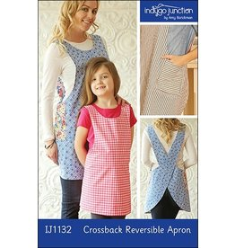 Indygo Junction Indygo Junction's Crossback Reversible Apron Pattern