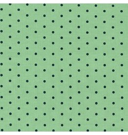 Robert Kaufman Cotton Lawn, American Minis Cambridge in Willow, Fabric Half-Yards