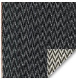 Robert Kaufman House of Denim Selvage Denim Reversible in Denim, Fabric Half-Yards