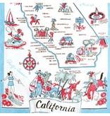 California Dish Towel