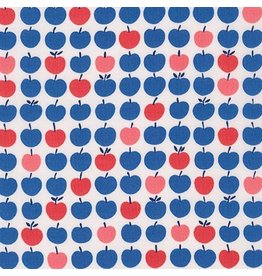 Robert Kaufman Cotton Lawn, London Calling 6 in Americana, Fabric Half-Yards
