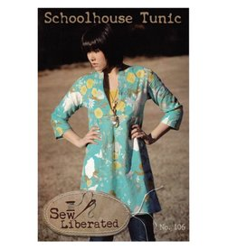 Sew Liberated's Schoolhouse Tunic Pattern - 50% off regular price of $14.00