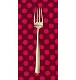 PD's Michael Miller Collection Ta Dots in Fuchsia, Dinner Napkin