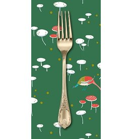 PD's Lizzy House Collection The Lovely Hunt, Fairy Rings in Grass, Dinner Napkin