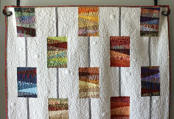 Orange Dot Quilts Orange Dot Quilt's Beads on a String Pattern