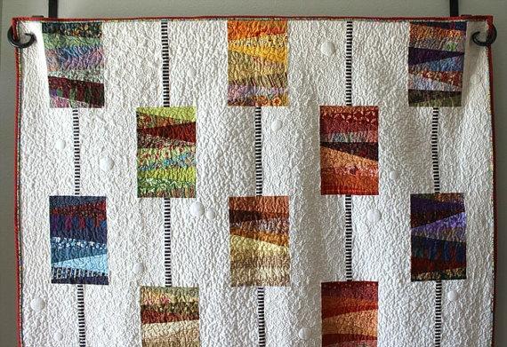 Orange Dot Quilts Orange Dot Quilt's Beads on a String Pattern