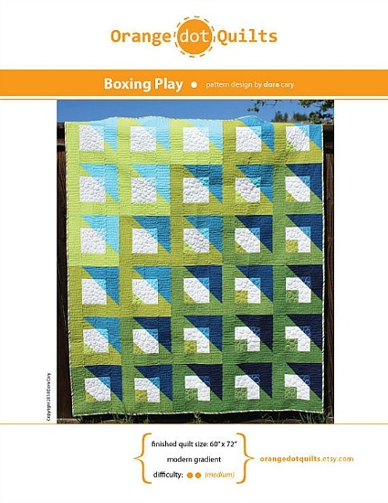 Orange Dot Quilts Orange Dot Quilt's Boxing Play Pattern