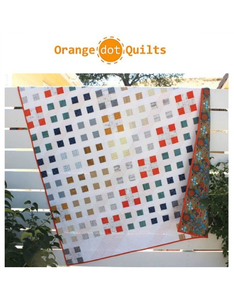 Orange Dot Quilts Orange Dot Quilt's Patch Nine Pattern