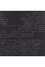 Moda Modern Background, Ink in Black, Fabric Half-Yards