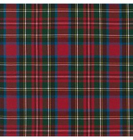 Robert Kaufman House of Wales Plaids, Woven Plaid in Multi, Fabric Half-Yards