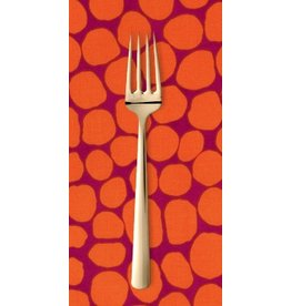 PD's Kaffe Fassett Collection Kaffe Collective Fall 2015, Jumble in Orange, Dinner Napkin