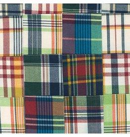 Robert Kaufman Nantucket Patchwork 2 in Americana, Fabric Half-Yards