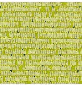 Carolyn Friedlander Carkai, Dentals in Green, Fabric Half-Yards