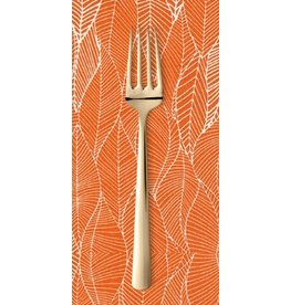 PD's Robert Kaufman Collection In the Bloom Leafy in Mango, Dinner Napkin