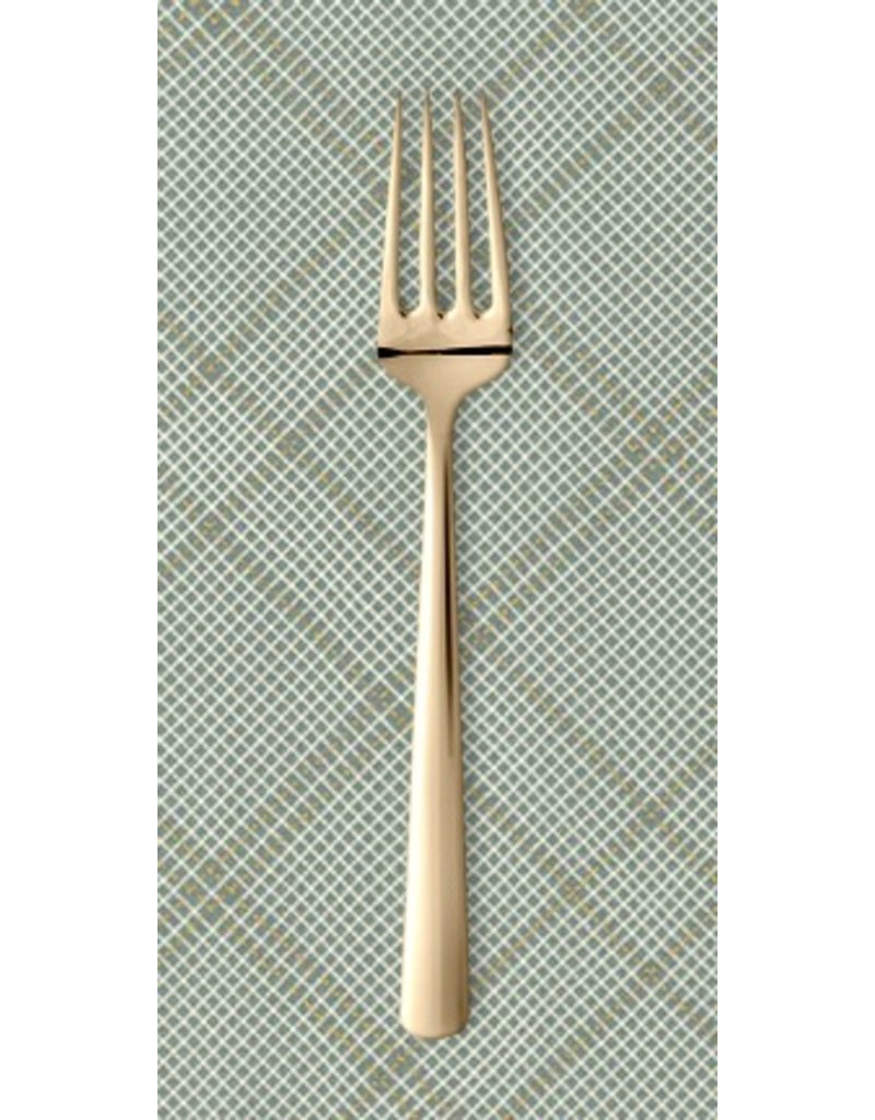 PD's Carolyn Friedlander Collection Carkai, Grid Diamond in Shale with Metallic, Dinner Napkin