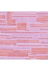 Carolyn Friedlander Carkai, Stitches in Petunia, Fabric Half-Yards