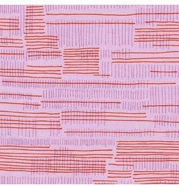 Carolyn Friedlander Carkai, Stitches in Petunia, Fabric Half-Yards
