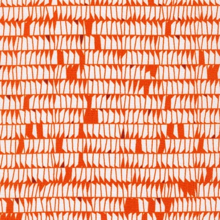 PD's Carolyn Friedlander Collection Carkai, Dentals in Tangerine, Dinner Napkin