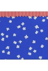 Kim Kight Penny Arcade Popcorn in Sky Blue, Fabric Half-Yards