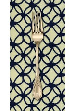 PD's Rashida Coleman-Hale Collection Macrame Knotty in Navy, Dinner Napkin