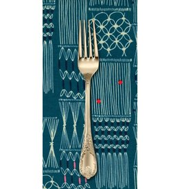 PD's Rashida Coleman-Hale Collection Macrame Wall Hanging in Deep Sea, Dinner Napkin
