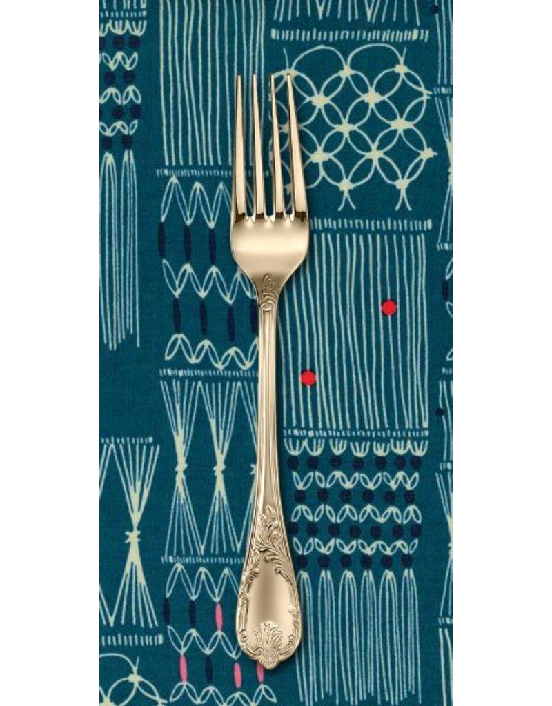 PD's Rashida Coleman-Hale Collection Macrame Wall Hanging in Deep Sea, Dinner Napkin