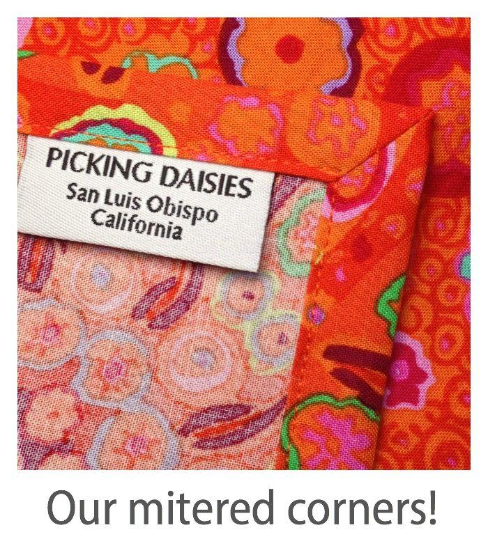 PD's Carolyn Friedlander Collection Carkai, Grid Bits in White, Dinner Napkin